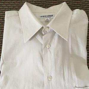 Giorgio Armani men's dress shirt.